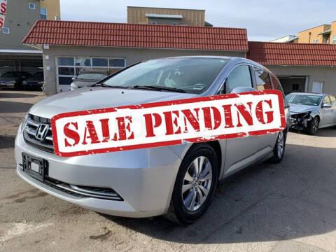 2014 Honda Odyssey for sale at ELITE MOTOR CARS OF MIAMI in Miami FL