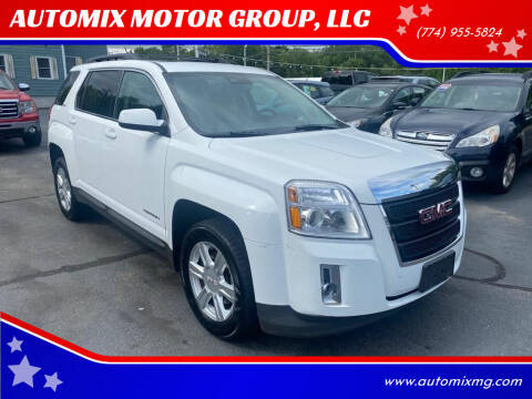 2014 GMC Terrain for sale at AUTOMIX MOTOR GROUP, LLC in Swansea MA