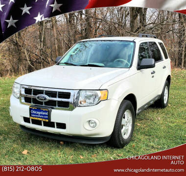2012 Ford Escape for sale at Chicagoland Internet Auto - 410 N Vine St New Lenox IL, 60451 in New Lenox IL