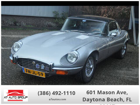 1972 Jaguar E-Type for sale at A7 AUTO SALES in Daytona Beach FL