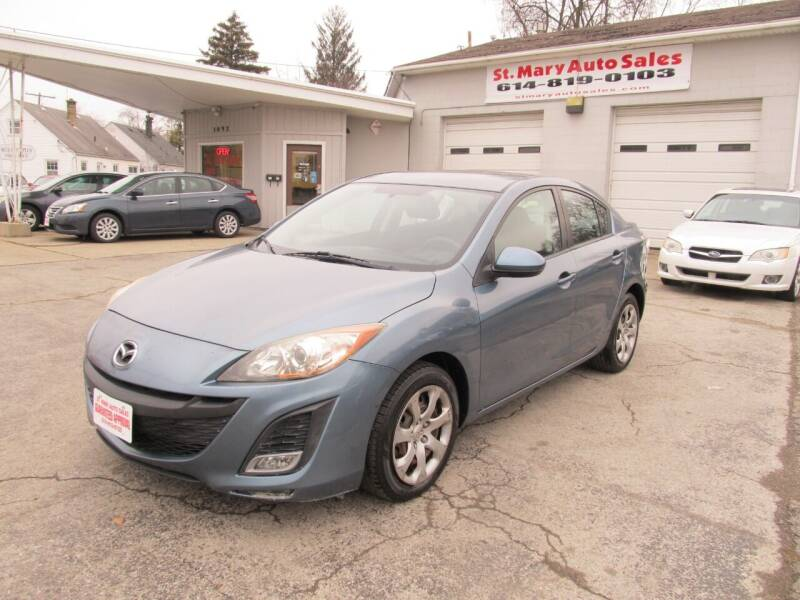 2010 Mazda MAZDA3 for sale at St. Mary Auto Sales in Hilliard OH