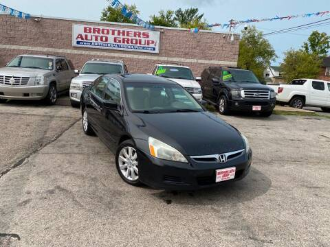2007 Honda Accord for sale at Brothers Auto Group in Youngstown OH