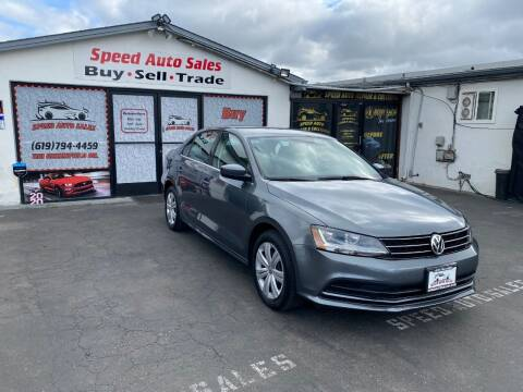 2017 Volkswagen Jetta for sale at Speed Auto Sales in El Cajon CA