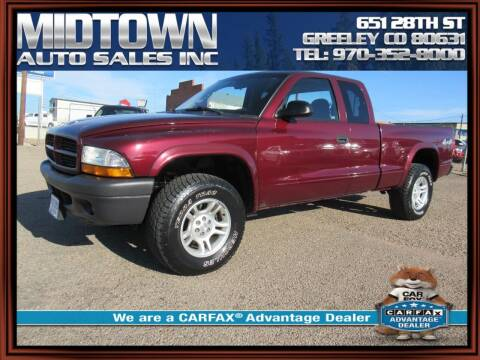 2003 Dodge Dakota for sale at MIDTOWN AUTO SALES INC in Greeley CO
