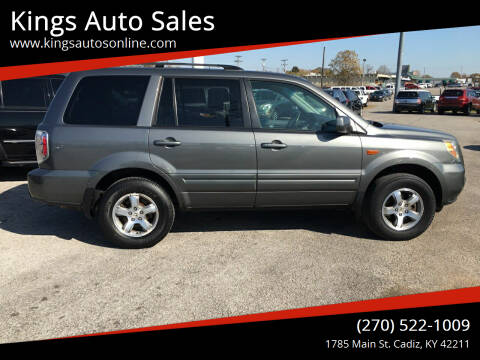 2007 Honda Pilot for sale at Kings Auto Sales in Cadiz KY