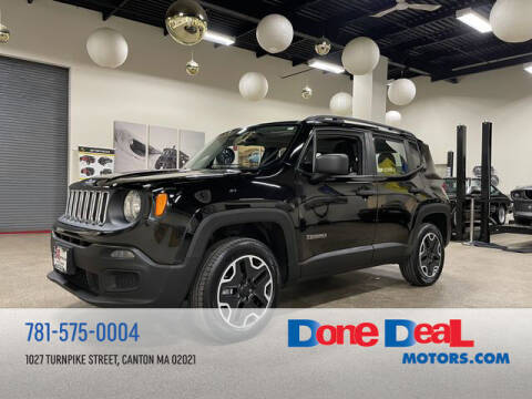 2015 Jeep Renegade for sale at DONE DEAL MOTORS in Canton MA