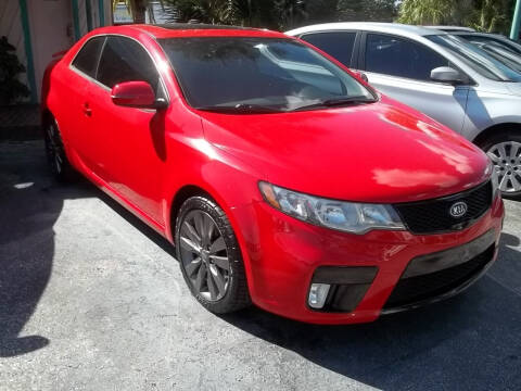 2012 Kia Forte Koup for sale at PJ's Auto World Inc in Clearwater FL