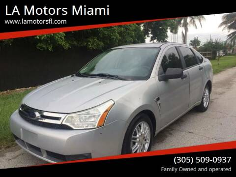 2008 Ford Focus for sale at LA Motors Miami in Miami FL