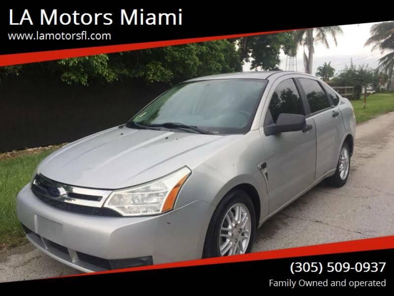 2008 Ford Focus for sale at LA Motors Miami in Miami FL