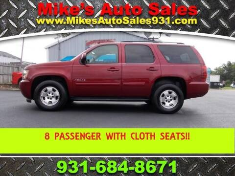 2010 Chevrolet Tahoe for sale at Mike's Auto Sales in Shelbyville TN