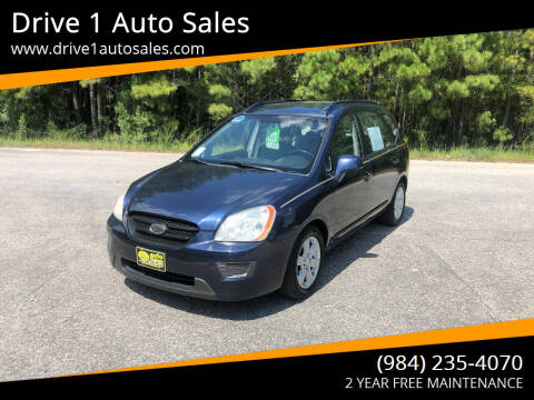 2007 Kia Rondo for sale at Drive 1 Auto Sales in Wake Forest NC