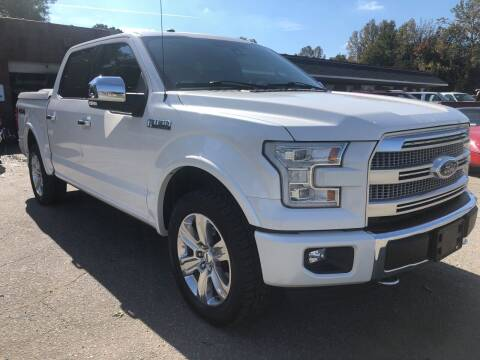 2016 Ford F-150 for sale at Creekside Automotive in Lexington NC