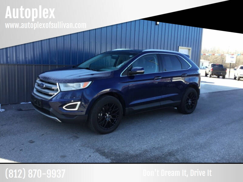 2016 Ford Edge for sale at Autoplex in Sullivan IN