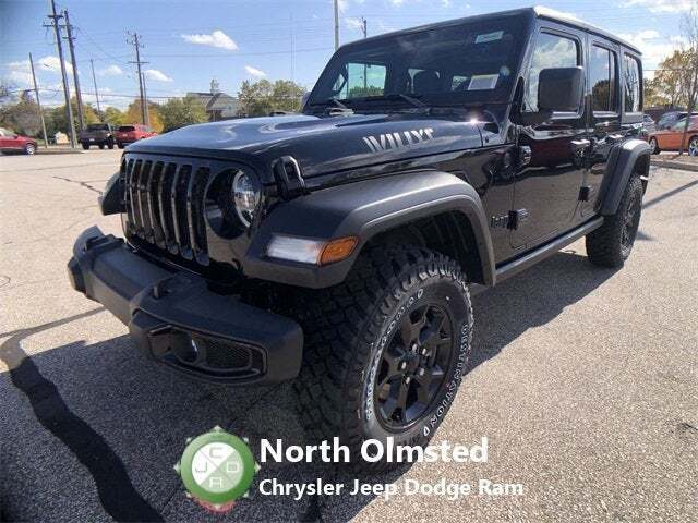 2021 Jeep Wrangler Unlimited WRANGLER UNLIMITED WILLYS 4X4 - North Olmsted OH