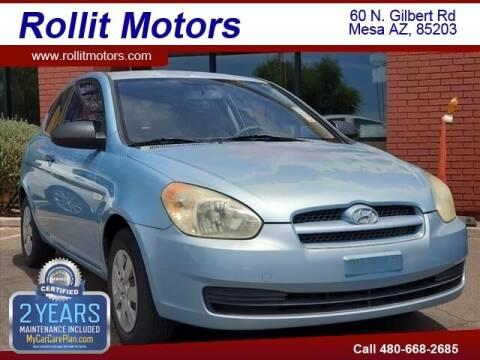 2009 Hyundai Accent for sale at Rollit Motors in Mesa AZ