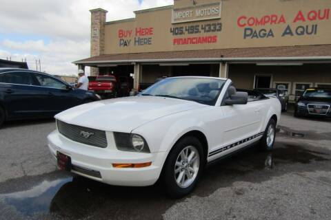 2007 Ford Mustang for sale at Import Motors in Bethany OK