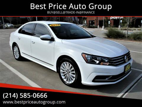 2017 Volkswagen Passat for sale at Best Price Auto Group in Mckinney TX