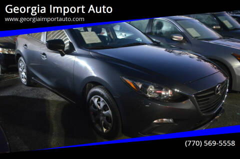 2014 Mazda MAZDA3 for sale at Georgia Import Auto in Alpharetta GA