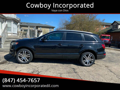 2009 Audi Q7 for sale at Cowboy Incorporated in Waukegan IL