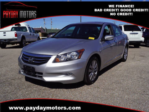 2011 Honda Accord for sale at Payday Motors in Wichita KS