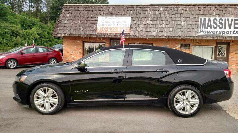 2014 Chevrolet Impala for sale at Kenny's Korner in Hartland MI