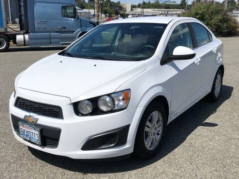 2013 Chevrolet Sonic for sale at South Tacoma Motors Inc in Tacoma WA