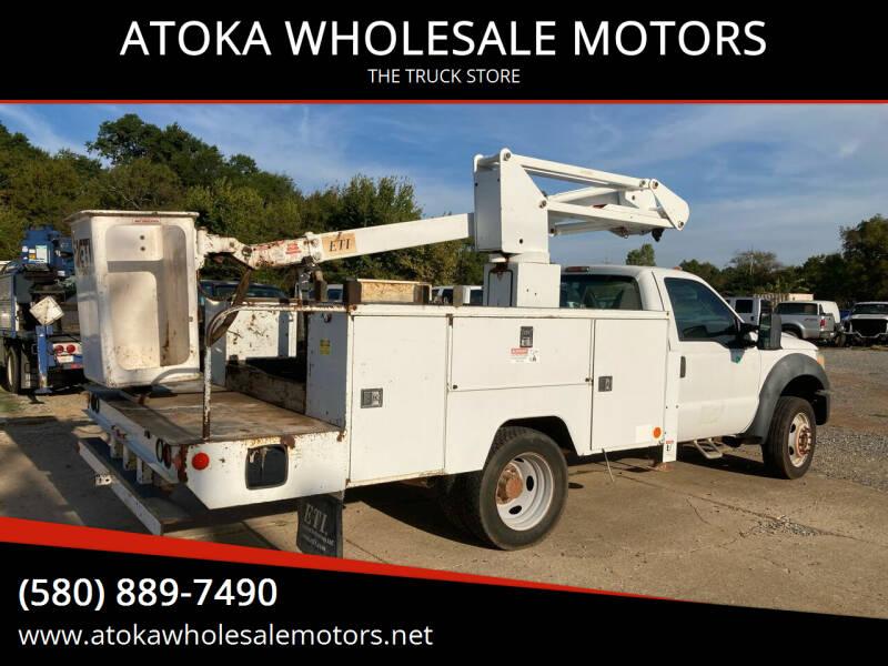 2011 Ford F-550 Super Duty for sale at ATOKA WHOLESALE MOTORS in Atoka OK