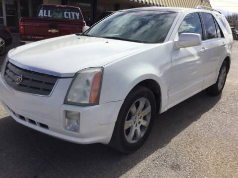 2006 Cadillac SRX for sale at LOWEST PRICE AUTO SALES, LLC in Oklahoma City OK