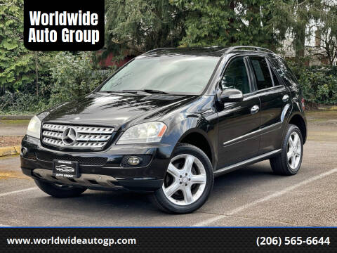 2008 Mercedes-Benz M-Class for sale at Worldwide Auto Group in Auburn WA