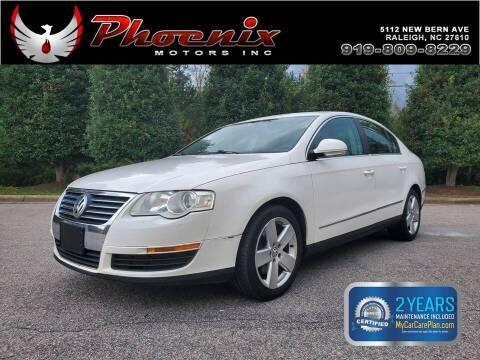 2008 Volkswagen Passat for sale at Phoenix Motors Inc in Raleigh NC