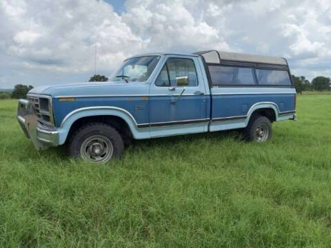 1984 Ford F-150 for sale at Classic Car Deals in Cadillac MI