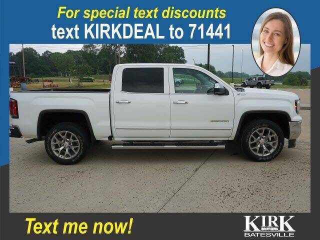 2018 GMC Sierra 1500 for sale at Kirk Brothers Batesville in Batesville MS