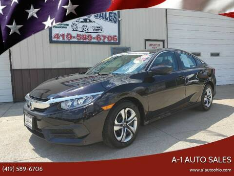 2017 Honda Civic for sale at A-1 AUTO SALES - Certified Pre-Owned in Mansfield OH