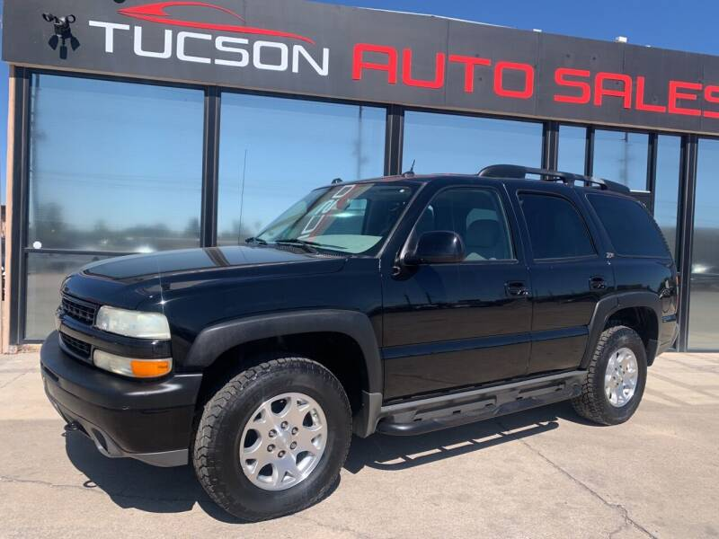 2004 Chevrolet Tahoe for sale at Tucson Auto Sales in Tucson AZ