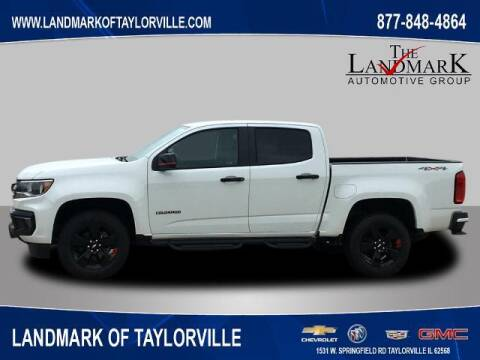 2021 Chevrolet Colorado for sale at LANDMARK OF TAYLORVILLE in Taylorville IL
