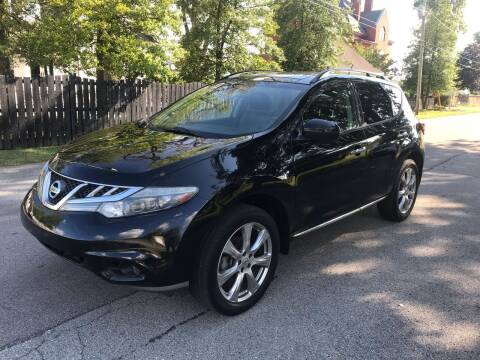 2012 Nissan Murano for sale at Eddie's Auto Sales in Jeffersonville IN