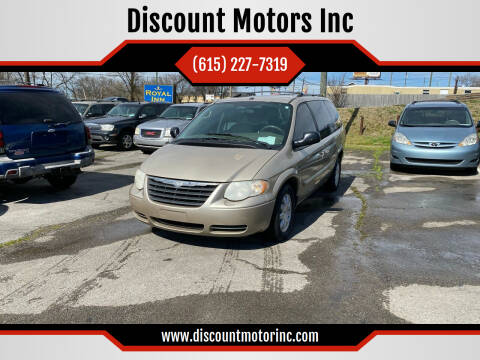 2007 Chrysler Town and Country for sale at Discount Motors Inc in Nashville TN