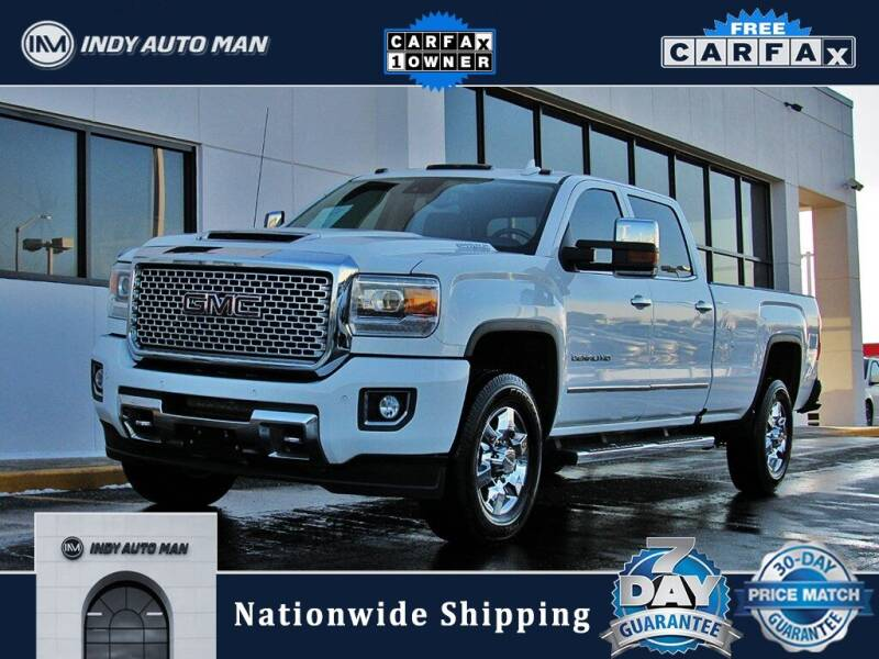 2017 GMC Sierra 3500HD for sale at INDY AUTO MAN in Indianapolis IN