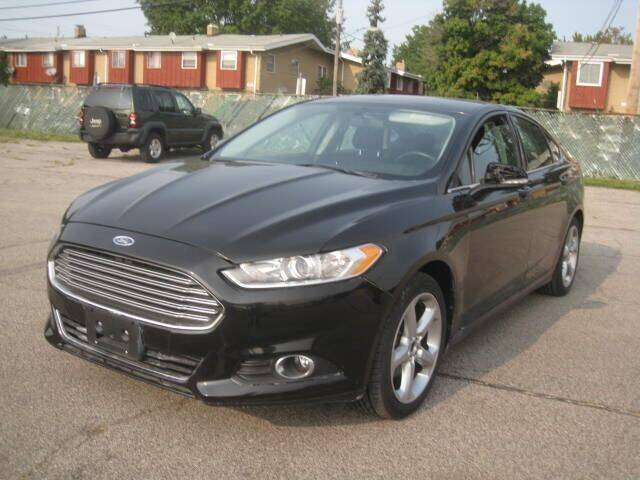 2013 Ford Fusion for sale at ELITE AUTOMOTIVE in Euclid OH