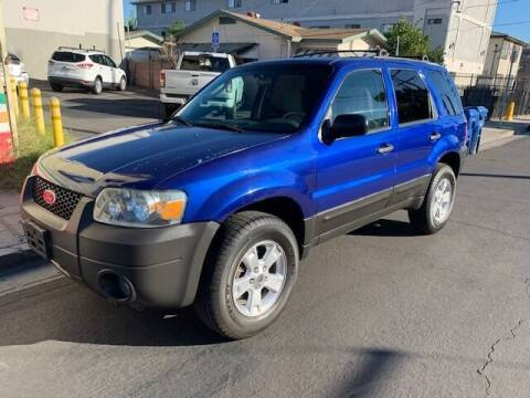 2006 Ford Escape for sale at Good Vibes Auto Sales in North Hollywood CA