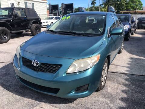2009 Toyota Corolla for sale at VC Auto Sales in Miami FL