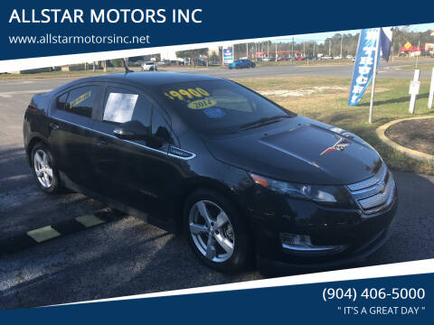 2014 Chevrolet Volt for sale at ALLSTAR MOTORS INC in Middleburg FL