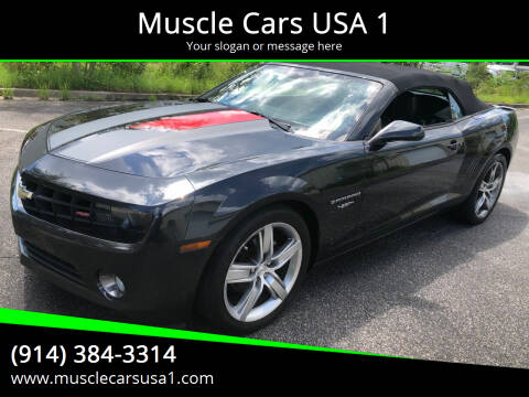 2012 Chevrolet Camaro for sale at Muscle Cars USA 1 in Murrells Inlet SC