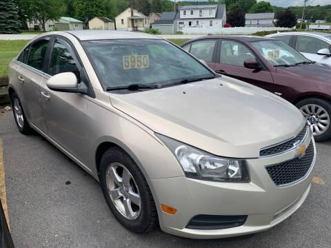 2012 Chevrolet Cruze for sale at BURNWORTH AUTO INC in Windber PA
