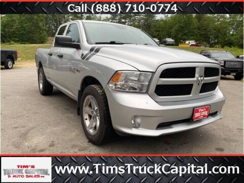 2014 RAM Ram Pickup 1500 for sale at TTC AUTO OUTLET/TIM'S TRUCK CAPITAL & AUTO SALES INC ANNEX in Epsom NH
