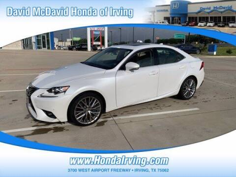 2016 Lexus IS 200t for sale at DAVID McDAVID HONDA OF IRVING in Irving TX