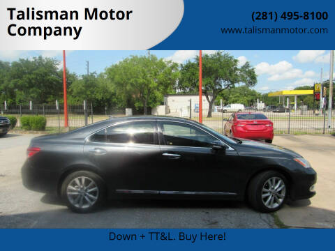 2011 Lexus ES 350 for sale at Talisman Motor Company in Houston TX