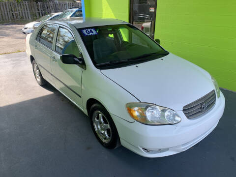 2004 Toyota Corolla for sale at Autos to Go of Florida in Daytona Beach FL
