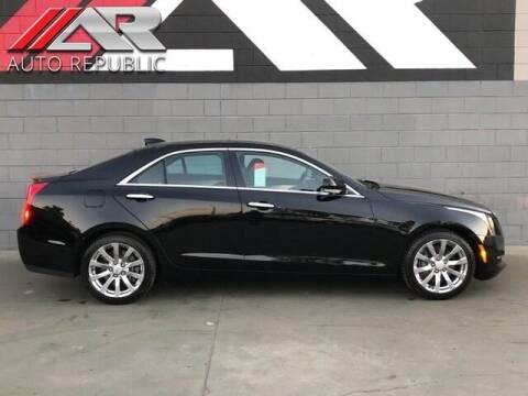 2017 Cadillac ATS for sale at Auto Republic Fullerton in Fullerton CA