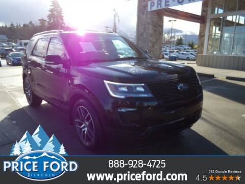 2018 Ford Explorer for sale at Price Ford Lincoln in Port Angeles WA